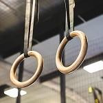 anneaux de gymnastique musculation